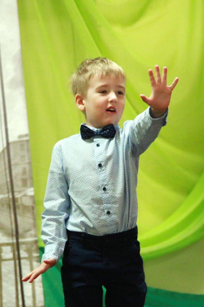 1. самый юный участник 4 года Богданов Михаил (Рейзинский детсад)_1